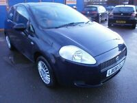2008 FIAT GRANDE PUNTO 1.2 3DOOR, HATCHBACK, SERVICE HISTORY, NICE CHEAP CAR TO RUN, HPI CLEAR