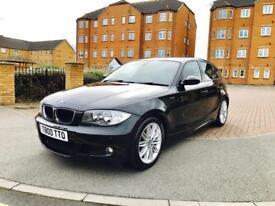 BMW 123D M SPORT TWIN TURBO DIESEL, 58 PLATE, 87000 MILES, 12 MONTHS MOT, AMAZING CAR.