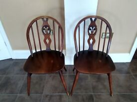 A pair of Ercol Chairs