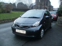 2006 Toyota Aygo+ 1.0 3dr, Full Service History, 2Former Keepers, £20 Tax, Very Clean Car, Low Miles