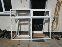 pvc window with glass free