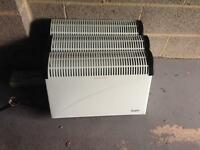 Wall electric heaters