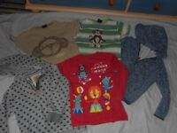 Boys age 3-4 Bundle of NEXT Clothing t-shirts, Hoodies, trousers & shorts