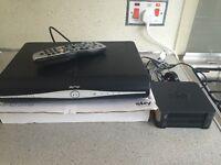 Sky + HD BOX with Wireless hub, built in Internet