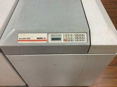 Agfa Accuset Image Setter 1200