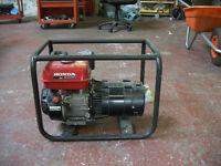 Honda EC2200 Petrol Generator 110vlt