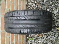CONTINENTAL TYRE 215 / 55 R18 6M LEFT £ 10 NO TEXTS PLEASE