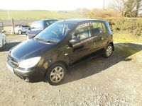 2007 HYUNDAI GETZ GSI 5DOOR SERVICED T/BELT REPLACED MOTD MUST BE SEEN AND DRIVEN