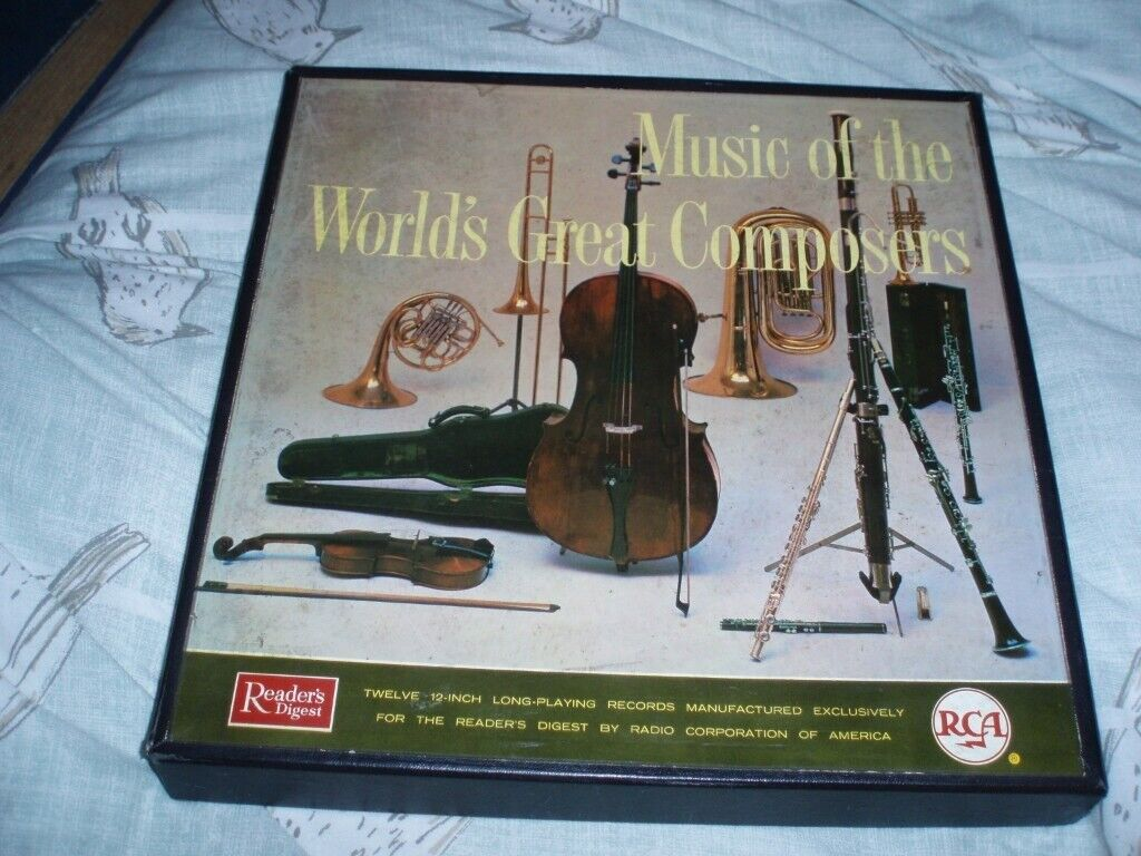 Music of the worlds greatest composers from Readers Digest   in Clydebank,  West Dunbartonshire   Gumtree