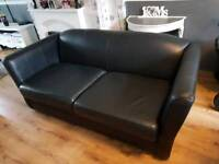 Leather sofa free recliners