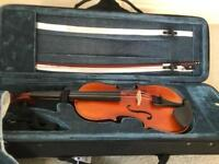 1/2 size violin with luxury case