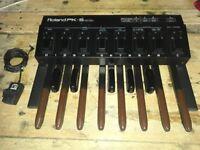 Roland PK5 midi organ pedal foot controller