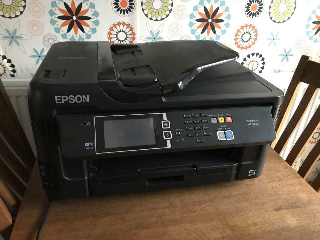 Epson Printer/scanner- prints a3 too!