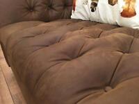 John Lewis Chesterfield sofa set