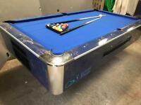 Pool table by Sam billiard - brand new cloth - ask about delivery