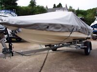 Fletcher Arrowflyte 14 Black Max with Mercury 75 oil injected and trailer