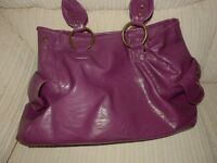 wine coloured large handbag plenty of space as new condition
