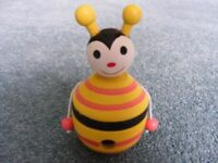Wooden Bee Pencil Sharpener: Brand New