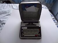 PORTABLE BROTHER DELUXE TYPEWRITER