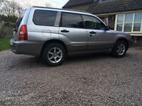 SUBARU FORESTER (FR3) X ALL WEATHER 2003 (2003) 12 month MOT
