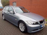 57 REG BMW 318I SE TOURING,MANUAL,MOT MARCH 201TH,07564776624