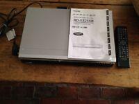 TOSHIBA HDD & DVD video Recorder - RD-XS25SB model; silver, EX.