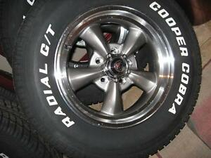"Mopar new 15"" American Racing Wheels Cuda, Charger, Challenger"