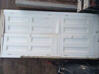 Cupboard doors for side of fire place