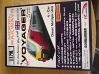 Dapol N gauge Voyager 4 car emu set brand new model railway train pack