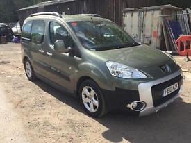 2010 PEUGEOT PARTNER TEPEE O-D 1.6 HDI 107 GREY VERY GOOD CONDITION