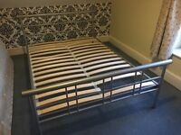 Second hand double bed frame