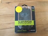 Used, Survivor military-duty phone case and belt for iPhone 4S and iPhone 4 for sale  Hertfordshire