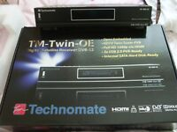 Technomate-twin-oe open embeded satelite receiver