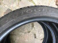 205/40/R17 tyres x2