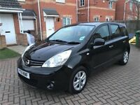 2011 NISSAN NOTE ACENTA 1.5 DIESEL, ONE OWNER, FULL SERVICE HISTORY, MOT 12 MONTHS