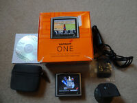TomTom One Sat Nav - Boxed - GPS SatNav