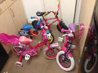 4 bikes for kids boys & girls