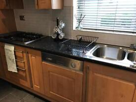 Kitchen units sink hob ideal for landlords smoke free house replacing kitchen soon