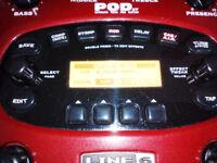 Line6 Pod XT guitar fx unit & power supply
