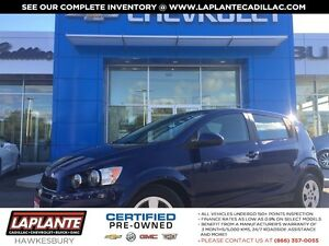 2014 Chevrolet Sonic 1 owner + Bluetooth