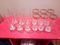 3 Set of glasses