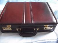 for sale a Briefcase Executive Faux Leather