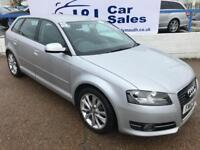 AUDI A3 1.6 TDI SPORT 5d 103 BHP A GREAT EXAMPLE INSIDE AND OUT (silver) 2012