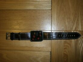 Red LED Binary Watch