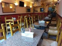 Fully equipped restaurant with 60 covers for lease