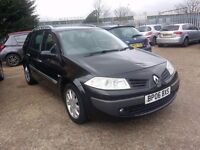 renault megane 1.6 2006 year new mot perfect condtion