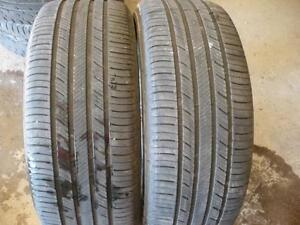 Two 215-55-17 tires $90.00