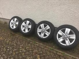 T6 Alloy wheels X4