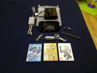 Nintendo Wii U Premium 32GB - 3 games !Super Mario Maker! price lowered