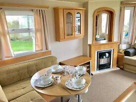 Cheap caravan for sale in Ashington near Newcastle 12 month season, no age limit 2017 fees included